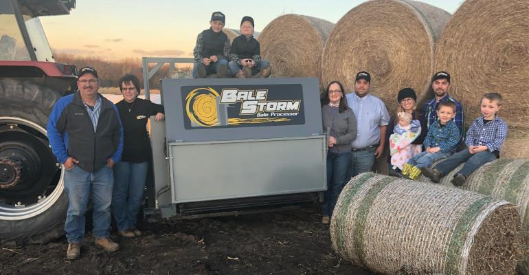 Bale Storm Featured in Wallaces Farmer