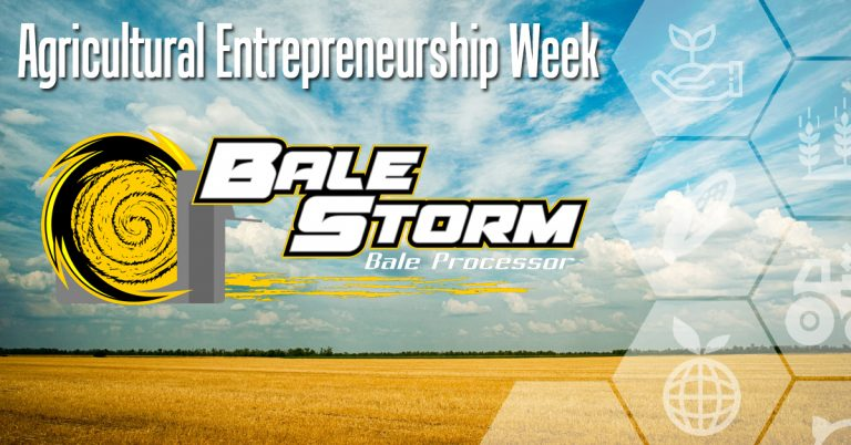 Bale Storm Featured as NIACC Pappajohn Entrepreneurial Centers Ag Entrepreneurship Spotlight