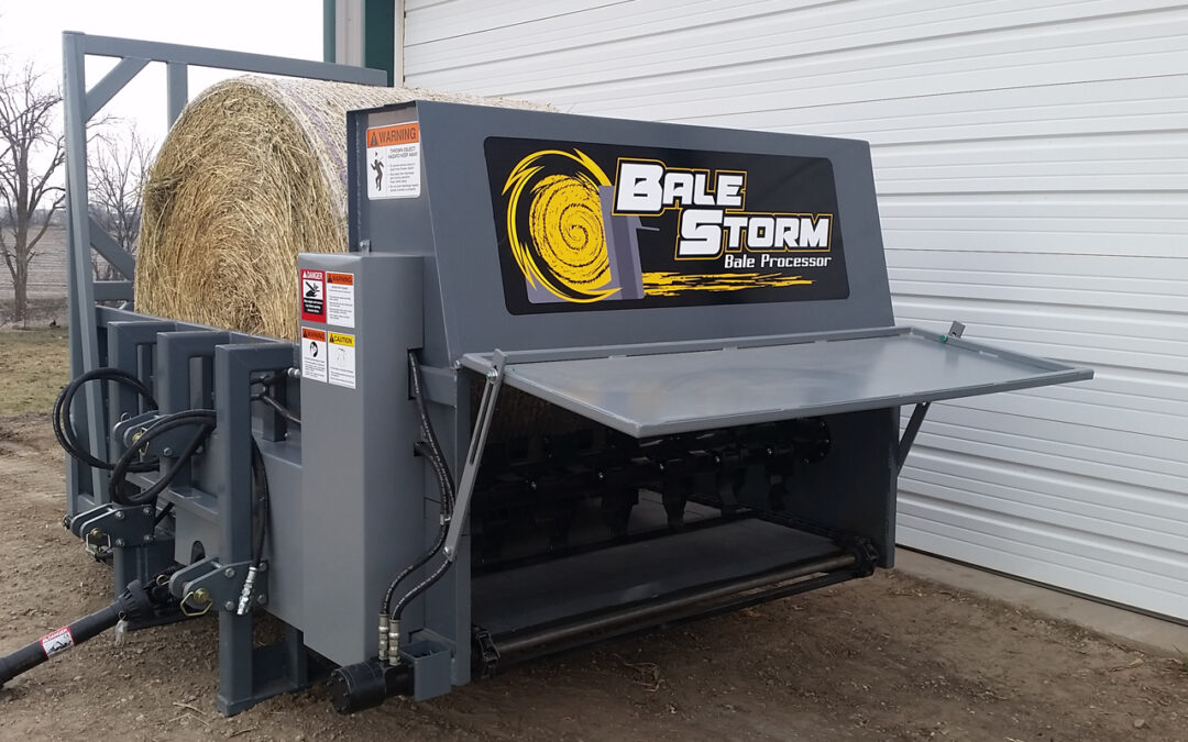 Bale Storm Featured in Farm Progress